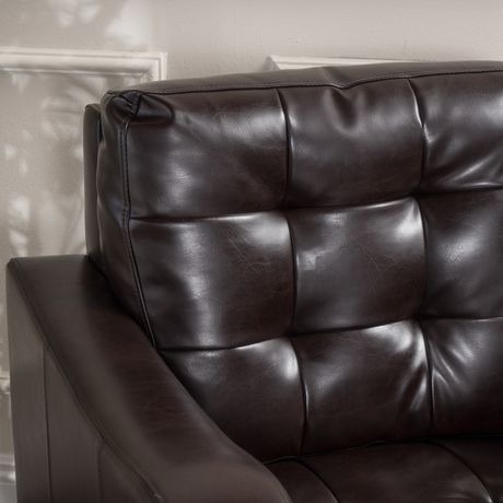 Sasha Leather Club Chair - image 2 of 3