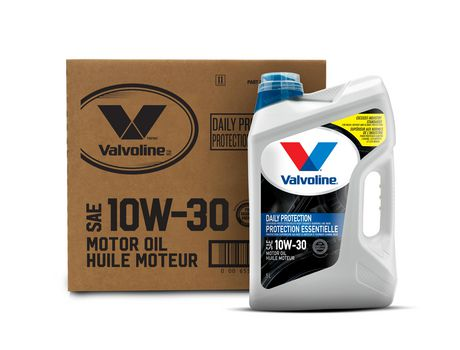 Valvoline Daily Protection Conventional 10W30 Motor Oil 5L Case Pack - image 1 of 4