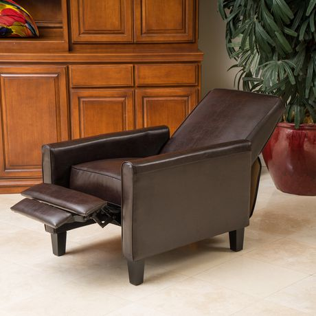 Rita Leather Recliner Club Chair - image 2 of 3