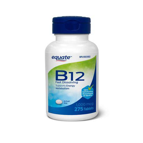 Equate Vitamine B12 1000MCG - image 1 de 1