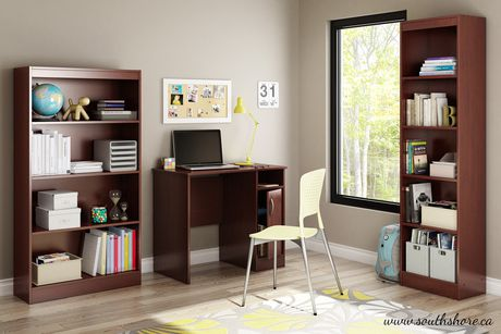 Bureau de travail collection smart basics de meubles south shore