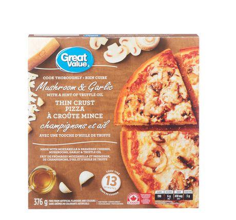 Great Value Thin Crust Mushroom and Garlic Pizza - image 2 of 3