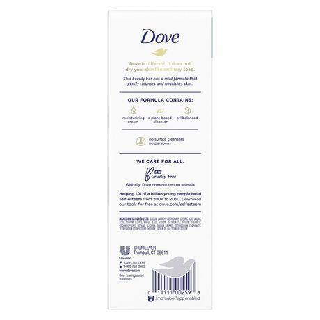 Dove Sensitive Skin Beauty Bar - image 3 of 6