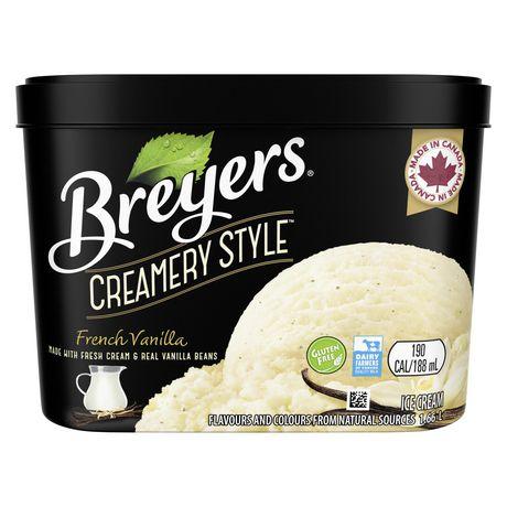 Breyers Creamery Style FrenchVanilla IceCream - image 2 of 8