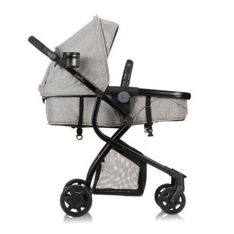 Evenflo Omni Travel System LiteMax Infant Car Seat - Heather Grey Fashion - image 2 of 7