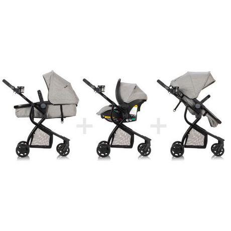 Evenflo Omni Travel System LiteMax Infant Car Seat - Heather Grey Fashion - image 4 of 7