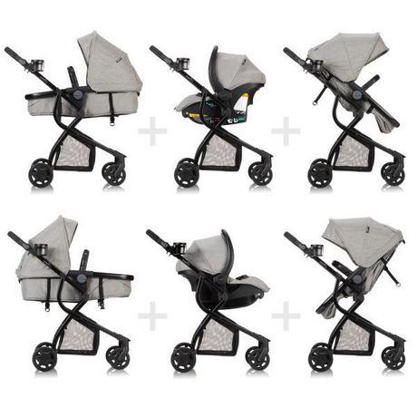 Evenflo Omni Travel System LiteMax Infant Car Seat - Heather Grey Fashion - image 5 of 7