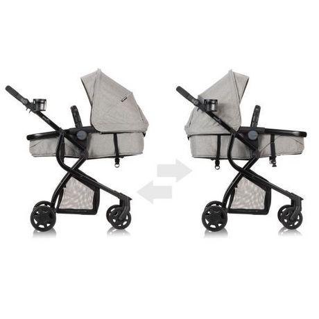 Evenflo Omni Travel System LiteMax Infant Car Seat - Heather Grey Fashion - image 6 of 7