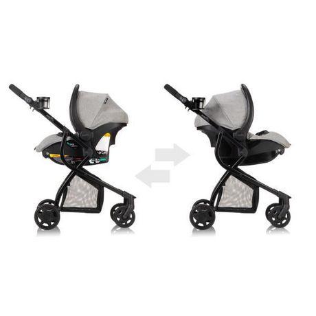 Evenflo Omni Travel System LiteMax Infant Car Seat - Heather Grey Fashion - image 7 of 7