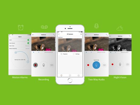 MOBI® PET Camera Monitoring System - Smart HD WiFi Pet Camera and Pet Monitoring System - Dedicated PET App - image 3 of 8