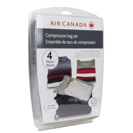 Air Canada 4pc Compression Bag Set Walmart Canada