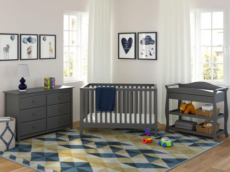 Storkcraft Hillcrest Fixed Side Convertible Crib - image 2 of 2