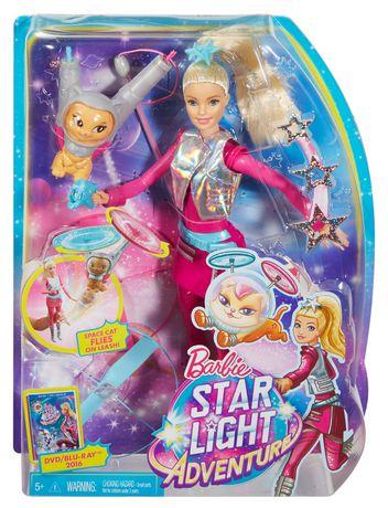 Poupée Barbie des étoiles et Chat volant Star Light Adventure de Barbie - image 9 de 9