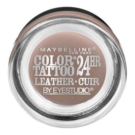 Maybelline new york eye studio color tattoo leather 24hr for Maybelline color tattoo gel eyeshadow