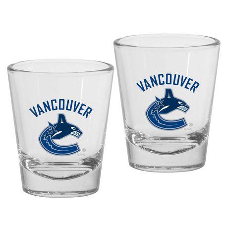 230e25c2e84 NHL Vancouver Canucks Shot Glasses - image 1 of 1 ...