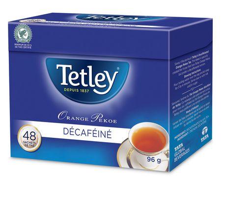 Tetley Tea Tetley Decaffeinated Orange Pekoe Tea Bags - image 2 of 2