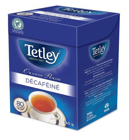 Tetley Decaffeinated Orange Pekoe Tea - image 2 of 2