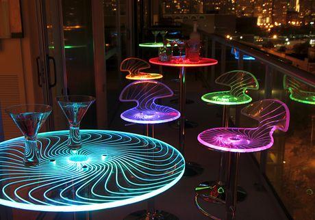 LumiSource Spyra Bar Table - image 8 of 8