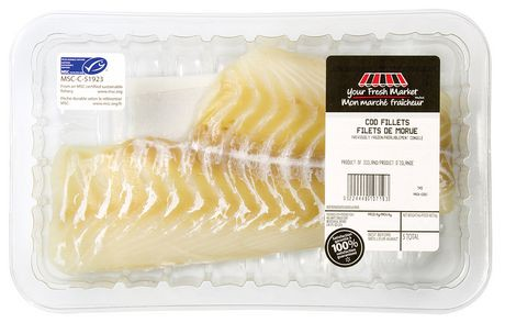 Your fresh market cod fillets walmart canada for Cod fish walmart