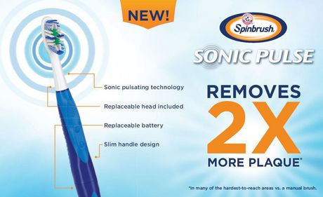ARM & HAMMER Spinbrush Sonic Pulse Toothbrush - image 2 of 4