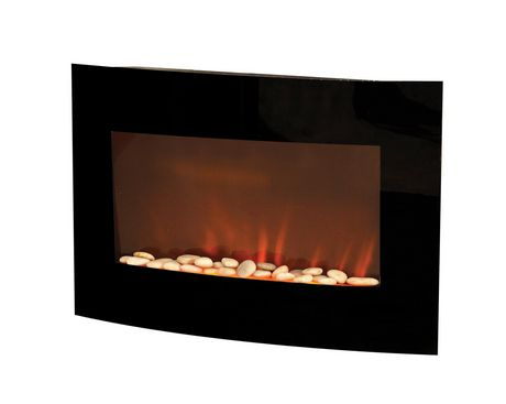 D 201 Cor Flame 32 Quot Electric Wall Mounted Fireplace Walmart