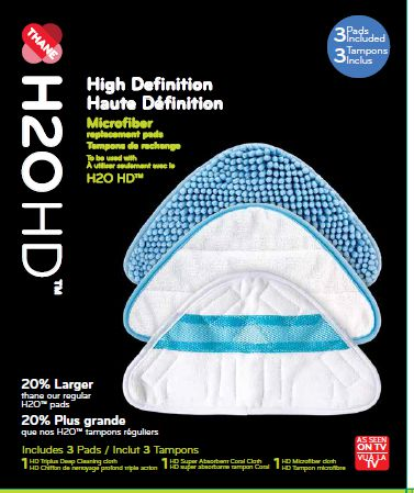 H2O HD™ Replacement Pads - image 1 of 2