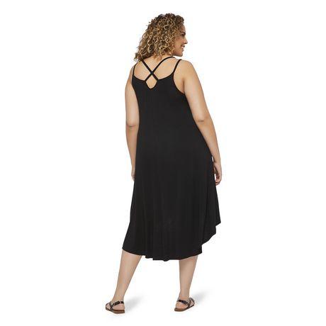 George Plus Women's Strappy Hi Low Hem Dress - image 3 of 6