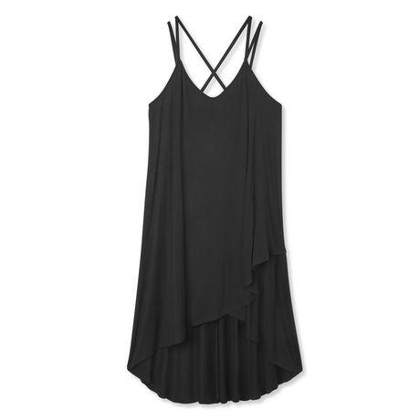 George Plus Women's Strappy Hi Low Hem Dress - image 6 of 6