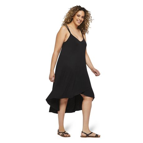 George Plus Women's Strappy Hi Low Hem Dress - image 2 of 6