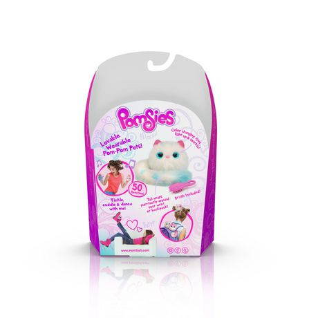 Pomsies Lovable Wearable Pet Snowball - image 2 of 4