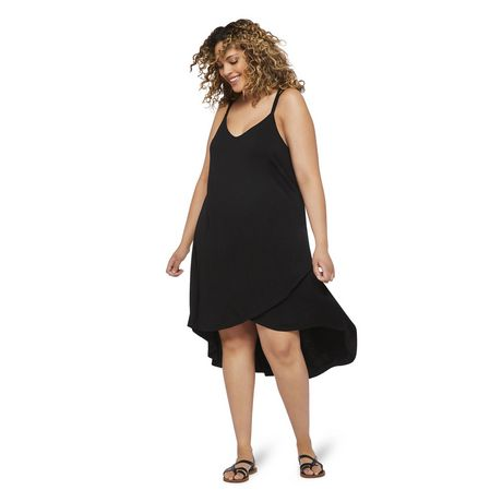 George Plus Women's Strappy Hi Low Hem Dress - image 5 of 6