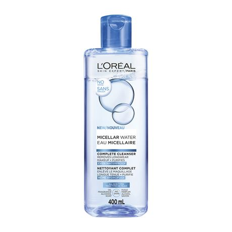 7a99c32e09d L'Oreal Paris Micellar Water Complete Cleanser, Makeup-Remover, Waterproof,  ...
