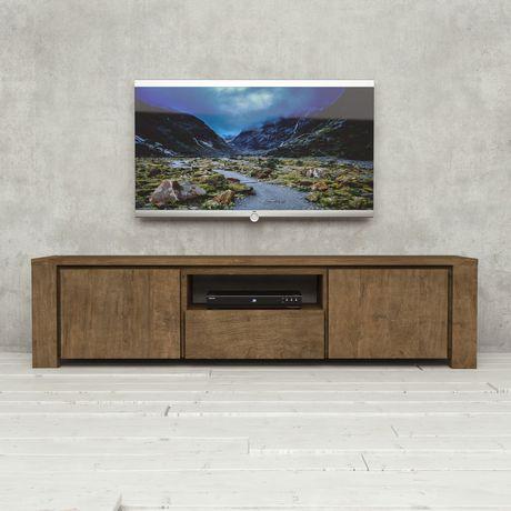 Urban Woodcraft 72'' Tuscany Reclaimed Teak Dark TV Stand - image 1 of 4