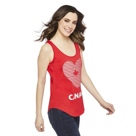 George Women's Canada Day Tank - image 2 of 6