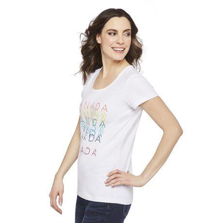 T-shirt fête du Canada George pour femmes - image 2 de 6