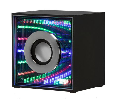 Sharper Image Sbt636 Infinity Lights Mini Bluetooth Wireless Speaker