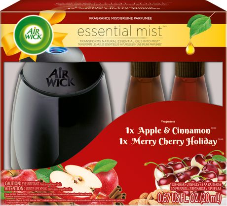 Air Wick Essential Mist Holiday Merry Cherry/Apple Cinnamon - image 1 of 1
