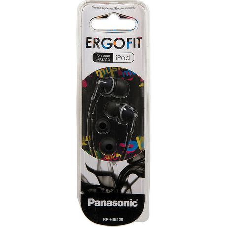 Panasonic RPHJE125 Noise Isolating Ergofit Earbuds - image 2 of 2