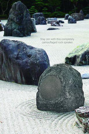 outdoor bluetooth rock speakers. sharper image sbt625gy bluetooth outdoor rock speaker speakers w