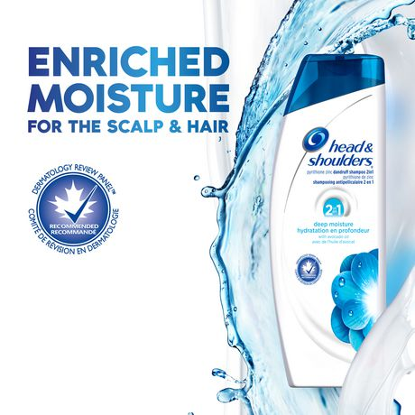 Head and Shoulders Deep Moisture Advanced 2in1 Dandruff Shampoo + Conditioner - image 4 of 6
