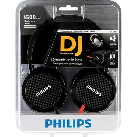 Philips SHL3100 DJ Style Headband Monitor Headphone - image 2 of 2