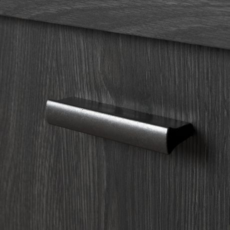 South Shore Exhibit Corner TV Stand, for Tvs up to 42'', Gray Oak - image 5 of 9