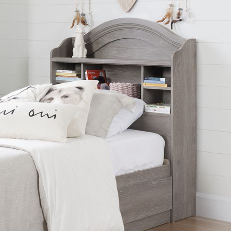 t te de lit de biblioth que south shore savannah walmart canada. Black Bedroom Furniture Sets. Home Design Ideas