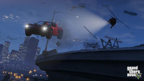 Jeu vidéo Grand Theft Auto V pour PS4 - image 5 de 8