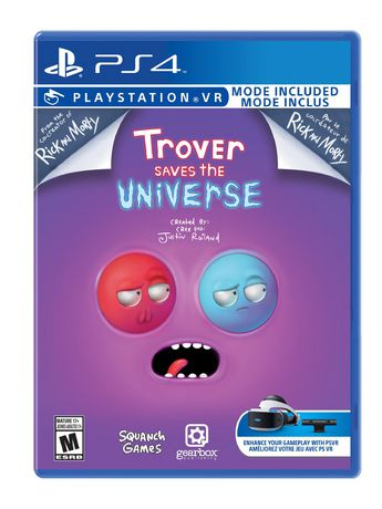 TROVER SAVES THE UNIVERSE (Playstation 4) - image 1 de 5