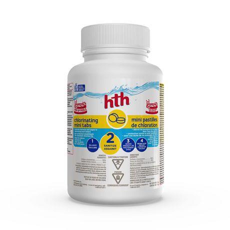 Nettoyeur de piscine hth en mini pastilles de chlorination for Nettoyeur de piscine