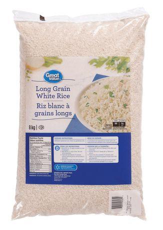 Riz blanc à grains longs de Great Value - image 1 de 2