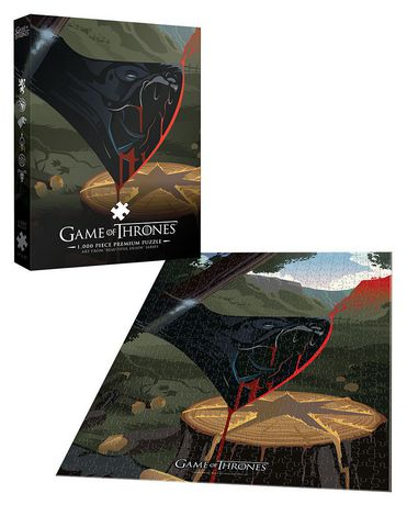 USAopoly Game of Thrones Premium PUZZLE: Violence is A Disease - image 2 of 2