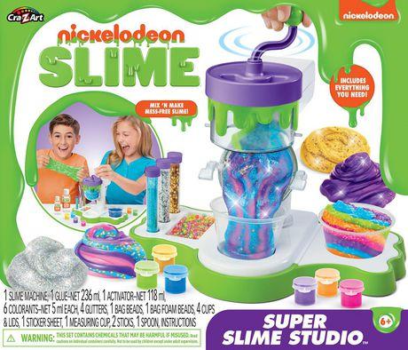 Trousse Super Slime Studio de Nickelodeon - image 1 de 5
