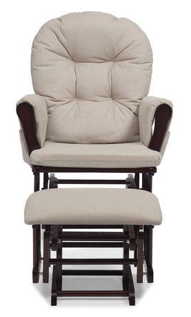 Chaise ber ante et tabouret confort de storkcraft for Chaise bercante walmart